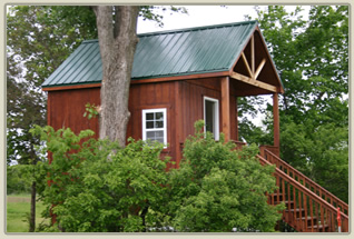 Crossroads RV Park and Campground - Treehouse Cabin